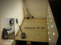 led ceiling - test 50 Cm
