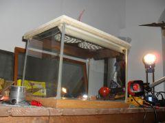 plafoniera riflettore terrario